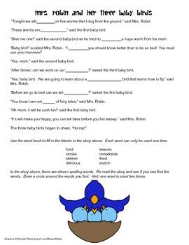 McGraw Hill Reading Wonders © 2nd Grade Unit 2 Week 2 Voca