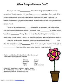 McGraw Hill Reading Wonders © 2nd Grade Unit 5 Week 4 Voca