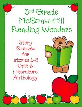 3rd Grade McGraw-Hill Reading Wonders Unit 2 Vocabulary &