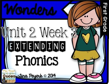 Extending Phonics with Wonders for First: Unit 2 Week 3