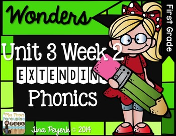 Extending Phonics with Wonders for First: Unit 3 Week 2