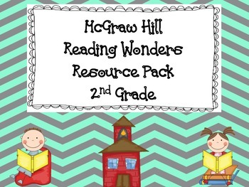 McGraw Hill Reading Wonders Resource Pack 2nd Grade