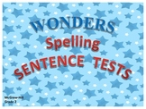 McGraw-Hill Reading Wonders SENTENCE SPELLING TESTS - Grad