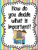 McGraw-Hill Reading Wonders Third Grade Weekly Focus Wall