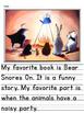McGraw-Hill Reading Wonders Unit 9 Week 1 Writing - Kindergarten