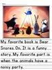 McGraw-Hill  Reading Wonders Unit 9 Writing Bundle - Kindergarten