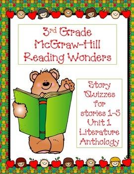 3rd Grade McGraw-Hill Reading Wonders Unit 1 Vocabulary &
