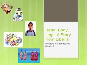 McGraw Hill Treasures Gr.2: Head, Body, Legs: A Story from