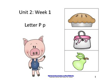 McGraw-Hill Wonders Reading Groups: Unit 2, Week 1:  Letter P