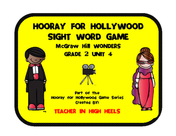McGraw-Hill WONDERS Grade 2 Unit 4 High Frequency Word Game