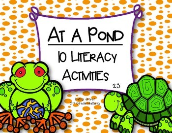 McGraw Hill Wonders 1st Grade At a Pond 2.3 {10 Literacy A