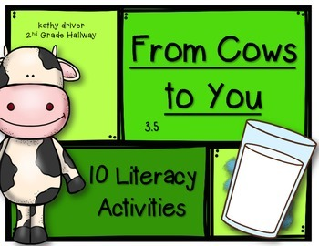 McGraw Hill Wonders 1st Grade From Cows to You 3.5 {10 Lit