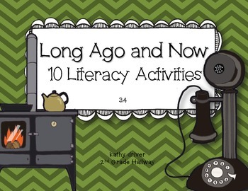 McGraw Hill Wonders 1st Grade Long Ago and Now 3.4 {10 Lit