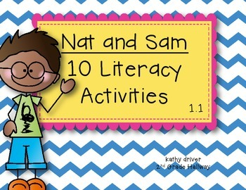 McGraw-Hill Wonders 1st Grade Nat and Sam 1.1 {10 Literacy
