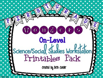 McGraw-Hill Wonders 1st Grade Science Social Studies Works