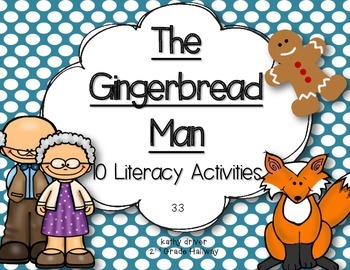 McGraw Hill Wonders 1st Grade The Gingerbread Man 3.3 {10