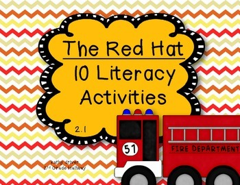 McGraw Hill Wonders 1st Grade The Red Hat 2.1 {10 Literacy