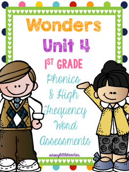 McGraw Hill Wonders 1st Grade Unit 4 Phonics & High Freque