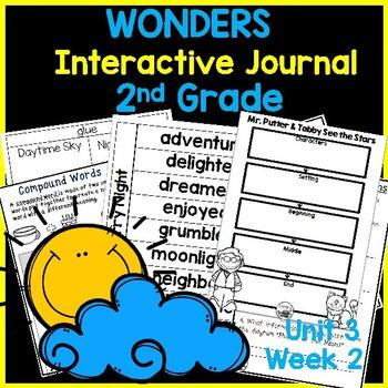 McGraw Hill Wonders 2nd Grade Interactive Journal Unit 3- Week 2