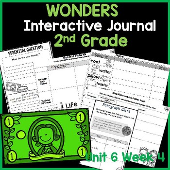 McGraw Hill Wonders 2nd Grade Interactive Journal Unit 6- Week 4