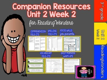 Reading Wonders Unit 2 Week 2 MegaPack for Grade 3