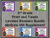 McGraw Hill Wonders 3rd Grade Bundled Units 1-6 Print and