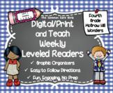 McGraw Hill Wonders 4th Grade Unit 1 Print and Teach Level