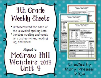 McGraw Hill Wonders 4th Grade - Unit 4