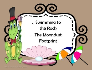 Swimming to the Rock + The Moondust Footprint' Poetry Anal