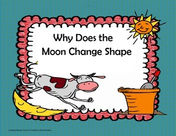 "'Why Does the Moon Change Shape?"" - 4th Grade -Trifolds +"