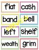 McGraw Hill Wonders 4th grade Spelling Words Unit 1-6 BUND