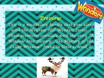 McGraw Hill Wonders, 5th - A Window Into History Vocabular