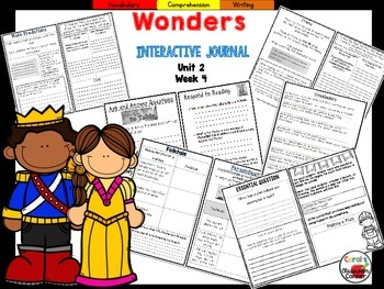 McGraw Hill Wonders 5th Grade Interactive Journal Unit 2 Week 4