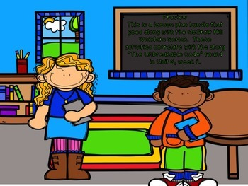 McGraw Hill Wonders, 5th - The Unbreakable Code Lesson Pla