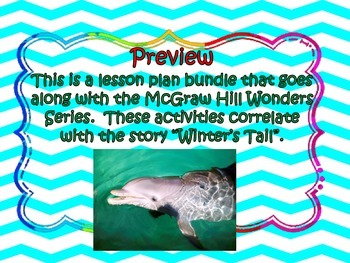 McGraw Hill Wonders, 5th - Winter's Tail Lesson Plan Bundle