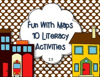 McGraw Hill Wonders First Grade Fun with Maps 2.5 {10 Lite