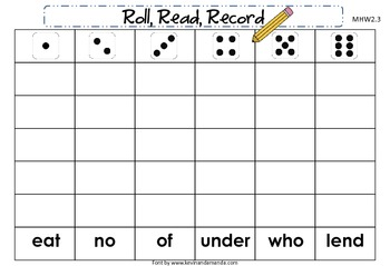 McGraw-Hill Wonders First Grade Unit Two Roll, Read, Record