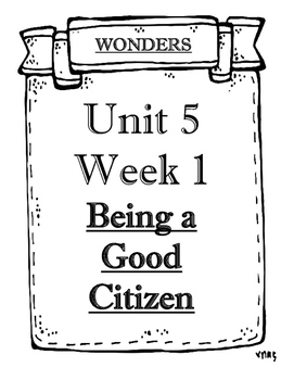 Wonders Grade 2 Objectives Unit 5 Weeks 1 to 5