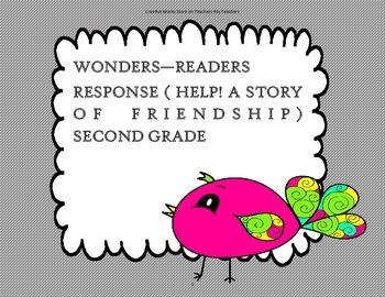 Reading Wonders Grade 2 Unit 1 - Reader Response Bundle