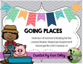 Wonders Leveled Reader Response Unit 3: Going Places (K)