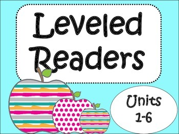 Leveled Readers Bundle Units 1-6/ 4th Grade