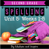 McGraw-Hill Wonders Second Grade Spelling (Unit 5: Weeks 1-5)
