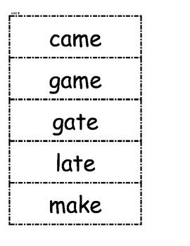 McGraw Hill Wonders Spelling Words Unit 3 1st Grade