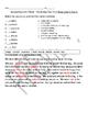 McGraw Hill Wonders Third Grade Vocabulary Tests Unit 2 Weeks 1-5