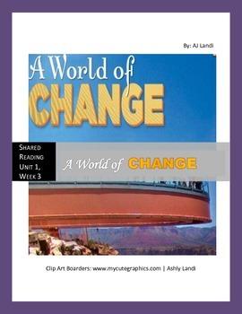 McGraw Hill Wonders UNIT 1, WEEK 3 Shared Reading A World