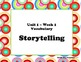 McGraw Hill Wonders Unit 1 Vocabulary Word Shape Cards Ret