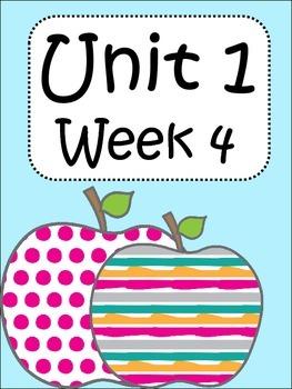 3rd grade Unit 1 Week 4 activities