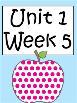 Unit 1 Week 5 Third Grade