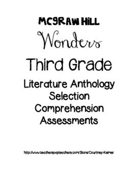 McGraw Hill Wonders Unit 2 Reading Assessment