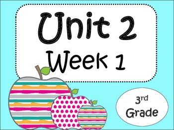 Unit 2/Week 1 Third Grade ( 5 activities)